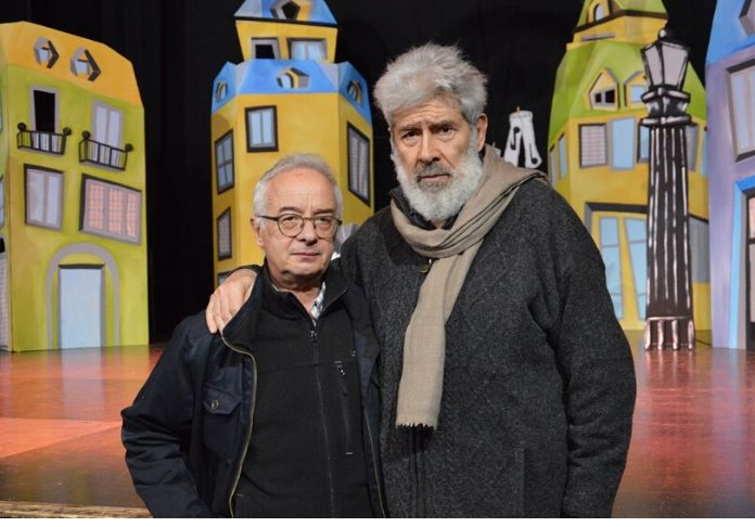 Filippo d'Alessio e Alessandro Benvenuti per la ripresa del Teatro tor Bella Minaca Unlocked