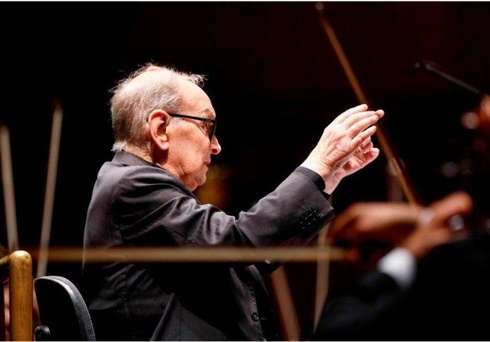 here's to you concerto in omaggio al Maestro Emnnio Morricone qui in foto