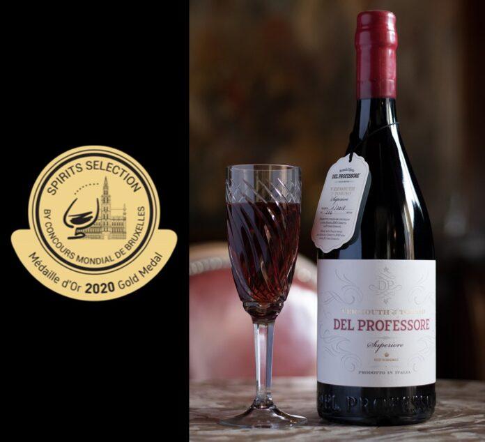 Il Vermouth Del Professore al Barole vince la Medaglia D'oro