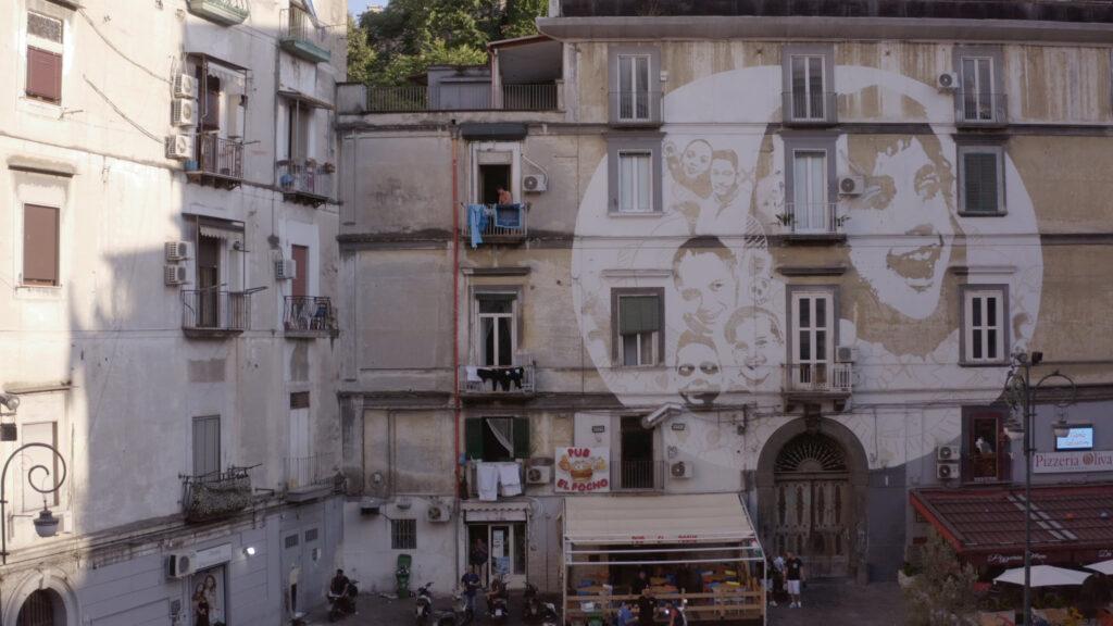 Rione sanità, murale di Piazza Sanità