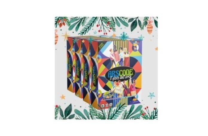 Arscode nella versione Christmas pack il gioco dell'arte