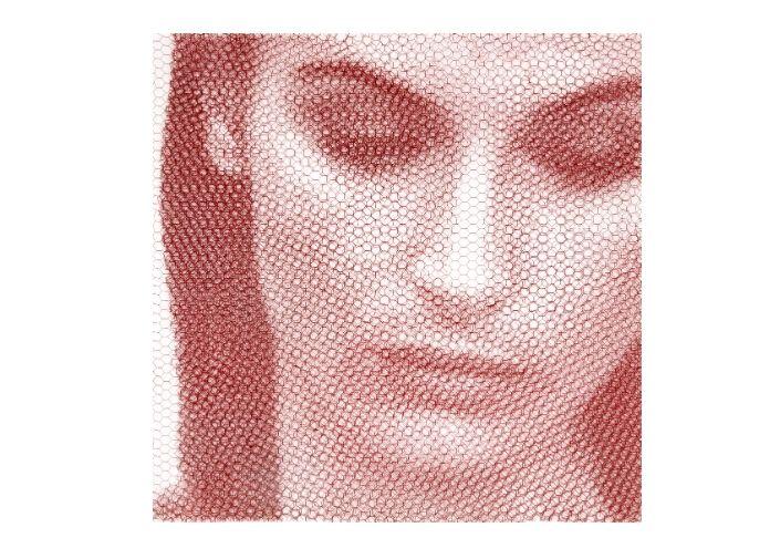 Giulia Giorgio Tentolini in Diacrinie alla Galleria Russo