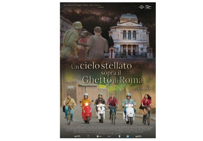 locandina del film Un cielo stellato sotto al ghetto di Roma