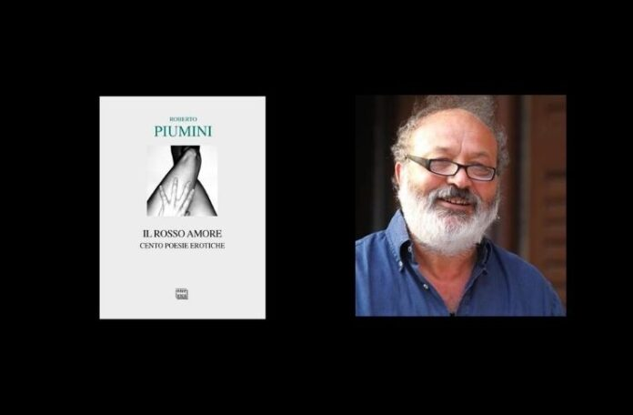 Roberto Piumini poesie dai bambini all'eros con Il rosso amore