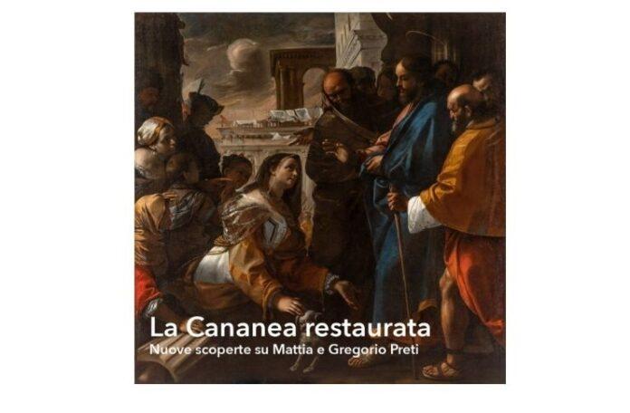 La cananea restaurata di Mattia Preti in mostra a Palazzo Barberini in riapertura