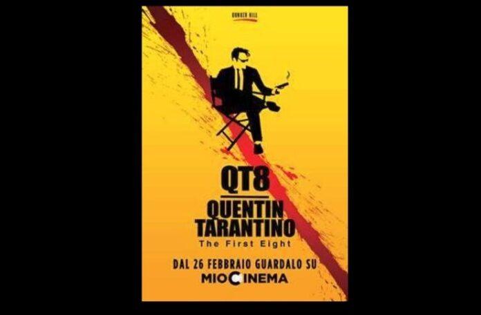 Locandina di QT8 documentario Quentin Tarantino