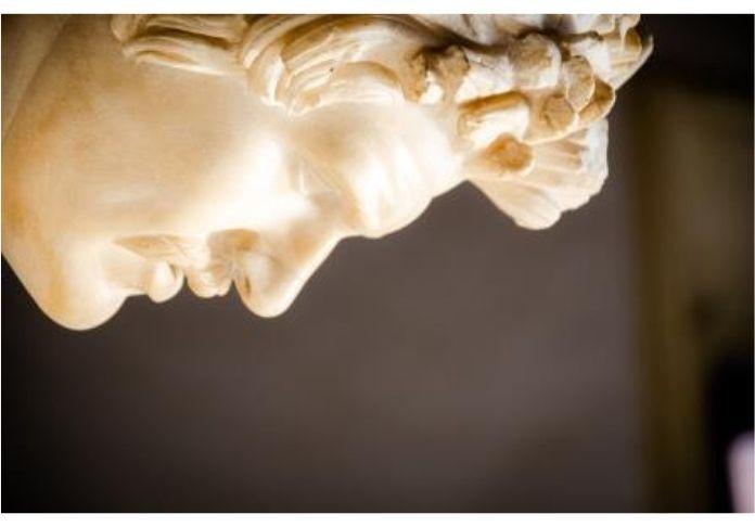 Il Galata morente visibile nel virtual tour dei Musei Capitolini Palazzo Nuovo
