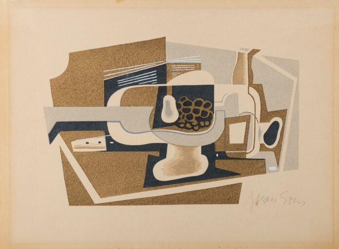 Cubismo e Cubismi Gris, nature morte, 1922 alla mostra cubismo e cubisti