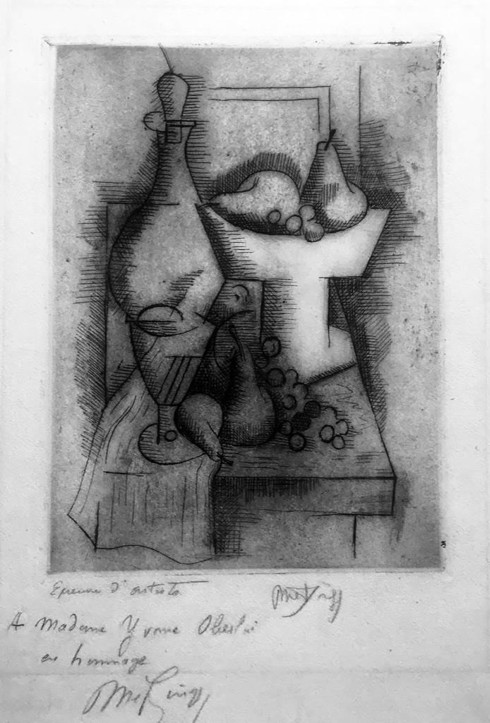 METZINGER, Nature morte, 1912-1913 nella mostra Cubismo e Cubismi