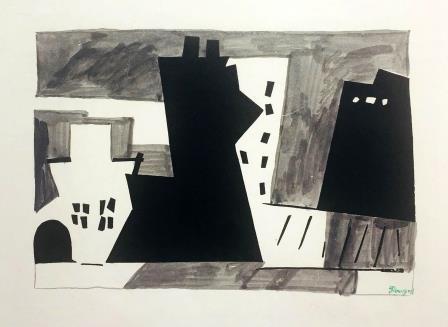 POUGNY, La ville, 1920 circa. nella mostra Cubismo e Cubismi