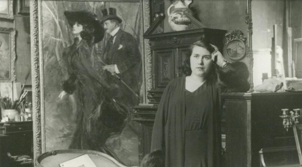 Giovanni Boldini. Il piacere. Story of the Artist (video still) _ Emilia Cardona, moglie di Giovanni Boldini