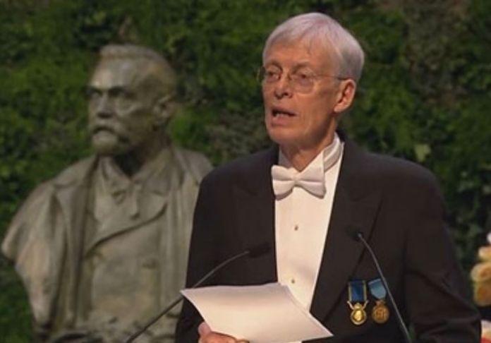 Jesper Svenbro - Accademia di Svezia premiato in Italia